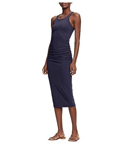 Michael Stars Racerback Dress w/ Shirring (Admiral) Women