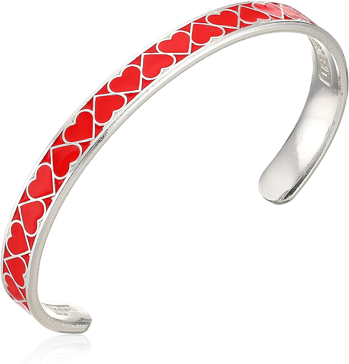 Alex and Ani Color Infusion Cuff, Heart, Expandable