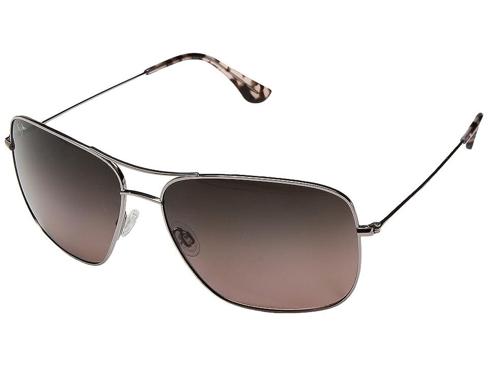 Maui Jim Cook Pines (Rose Gold/Maui Rose) Athletic Performance Sport Sunglasses