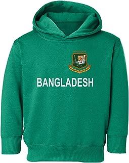SMARTZONE Cricket Bangladesh Jersey Style Fans Supporterr Toddler Hooded Sweatshirt