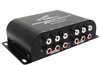 Audiopipe Multi-Audio Amplifier 3 Rca Outputs W/Bulit In 10V Line Driver