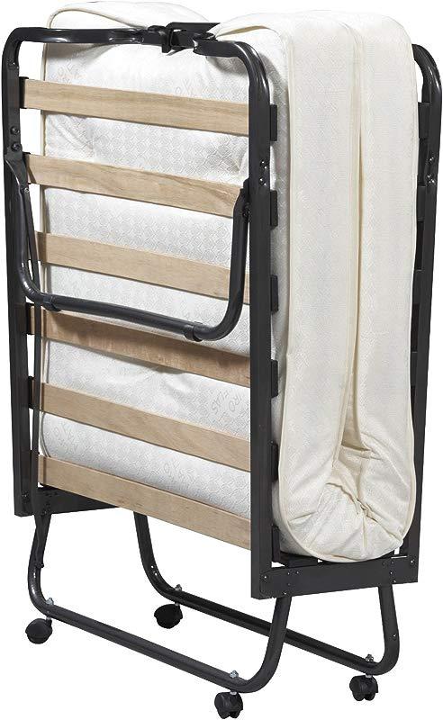 Linon Home Dcor 352STD 01 AS UPS Luxor Memory Foam Folding Bed Mattress Twin Beige