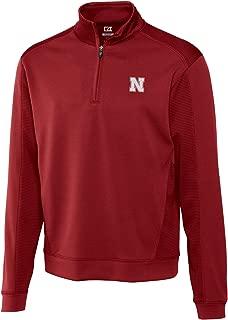 Cutter NCAA Men's Edge Half Zip Shirt