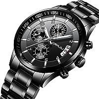 CRRJU Men's Multifunctional Chronograph Wristwatches
