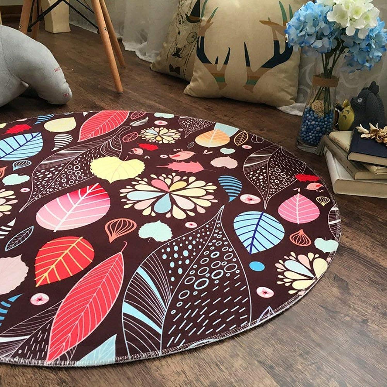 DYR Area Rugs Carpet Carpet Living Room Bedroom Coffee Table Hanging Basket Basket (color  B, Size  100  100cm)