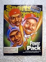 Mark McGwire (St Louis Cardinals), Sammy Sosa (Chicago Cubs), Ken Griffey Jr (Cincinnati Reds) - Power Pack - Sports Illustrated - March 6, 2000 - SI