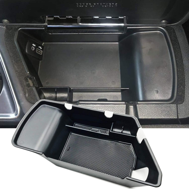 JOJOMARK for 2019 Dodge Challenger Accessories Center Console Organizer Tray Armrest Box Secondary Storage Fit 2015 2016 2017 2018 2019 2020 Dodge Challenger