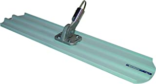Bon 82-429 36-Inch by 8-Inch Round End Magnesium Concrete Bull Float with Universal Button Hole Bracket