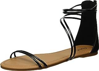 Women's Caged Sandal Flat
