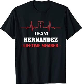 Team HERNANDEZ lifetime member family youth kid shirt 5ts