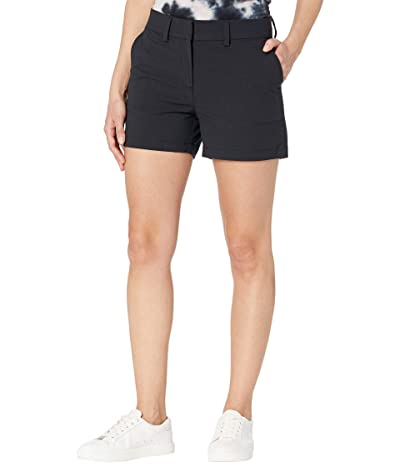 Southern Tide 4 Inlet Performance Shorts (Black) Women