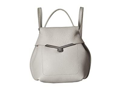 Botkier Valentina Mini Wrap Backpack (Silver Grey) Backpack Bags