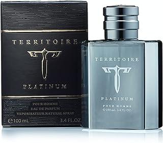 Territoire Platinum by YZY Eau de Parfum For Men 3.4 FL oz 100 ML