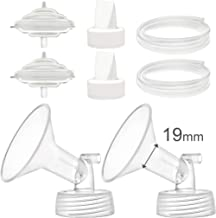 Maymom Pump Parts Compatible with Spectra S2 Spectra S1 Spectra 9 Plus Breastpump, Flange (19mm) Valve Tubing Backflow Protector, Not Original Spectra Pump Parts Not Original Spectra S2 Accessories