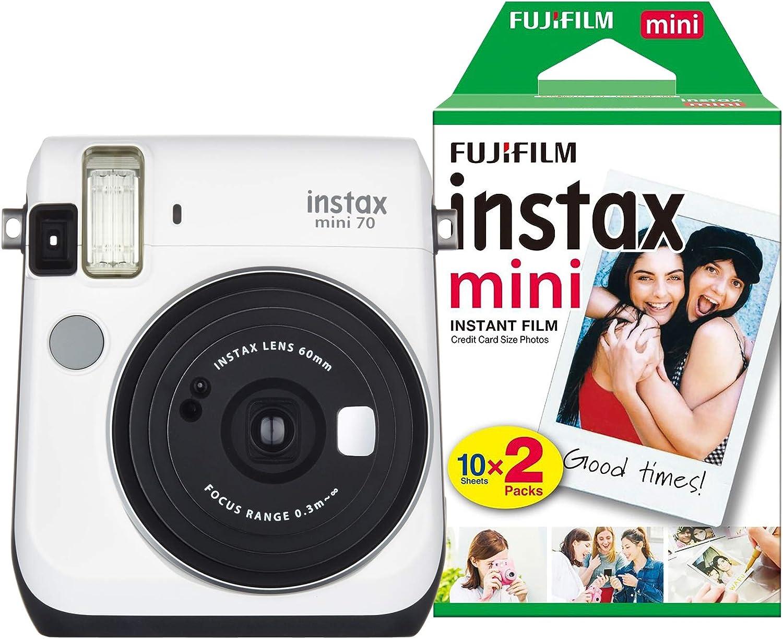 Fujifilm Fuj1731 Instax Mini 70 Sofortbildkamera Mit 30 Kamera