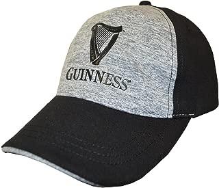 Guinness Black Harp Logo Grey Performance Baseball Cap