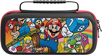 $20 » Su-per Ma-rio Game Bag, Switch Travel Carrying Case for Switch Lite Console and Accessories, Shell Protective Cover Organi...