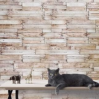 Slavyanski wallcoverings Vinyl Wallpaper Brown Old Vintage Rust Retro Faux Rustic Realistic barn Distressed Wood Boards Textured Pattern Rolls Wall coverings Wallpapers Textures Modern Rolls 3D loft
