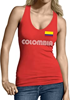 Colombia Soccer Jersey Junior's Tank Top