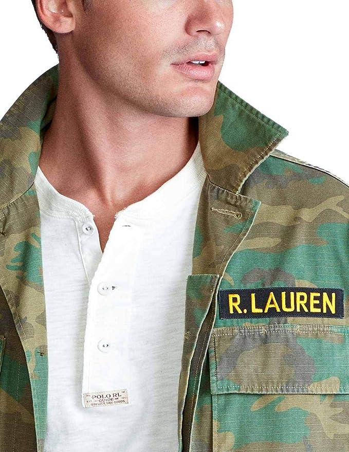 Chaqueta Ralph Lauren Military Airbone Multicolor Hombre x ...