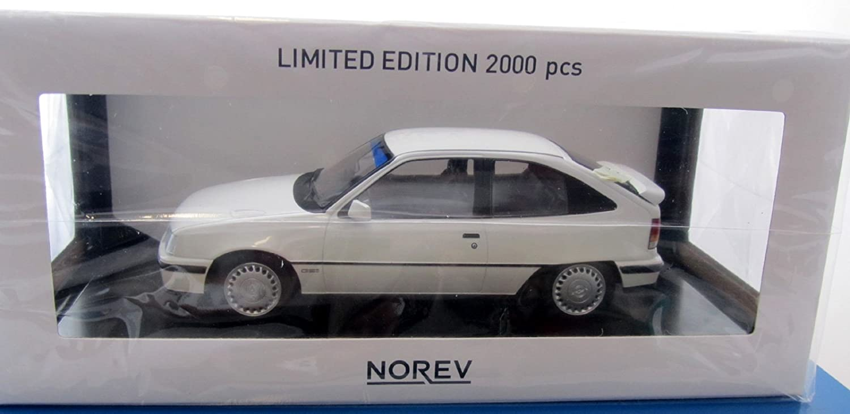 ofrecemos varias marcas famosas Opel Opel Opel Modellauto 01 18 Norev Kadett GSI 1987 Weiss