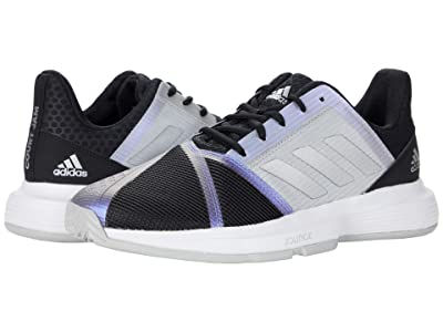 adidas CourtJam Bounce (Black/Silver Metallic/Grey) Women