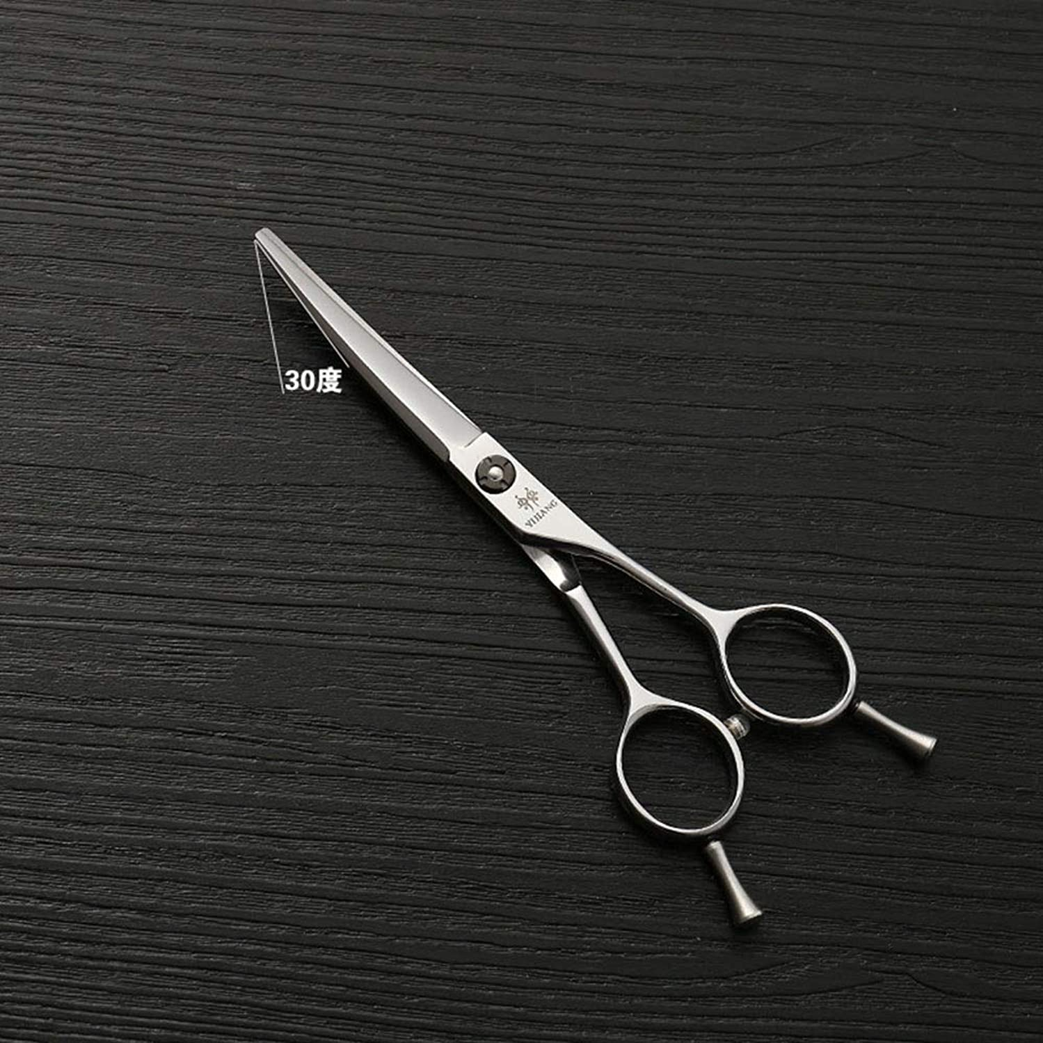 別々にメダリストビタミン440Cステンレス鋼バリカン、5.5インチ美容院プロのバリカンハイグレードシルバー理髪ツール モデリングツール (色 : Silver)