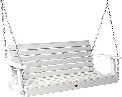 Highwood AD-PORW1-WHE Weatherly Porch Swing, 5 Feet, White