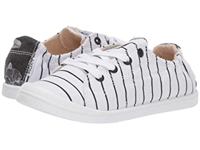 Roxy Rory Bayshore (White/Black) Women