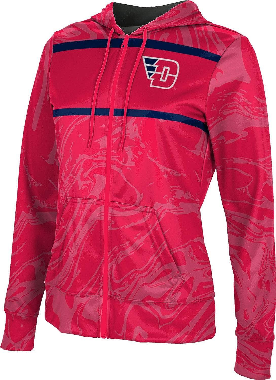 ProSphere University of Dayton Girls' Zipper Hoodie, School Spirit Sweatshirt (Ripple)