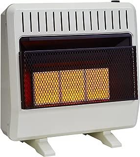 Avenger FDT3IR Dual Fuel Ventless Infrared Heater, 30,000 BTU, 30,000 BTU