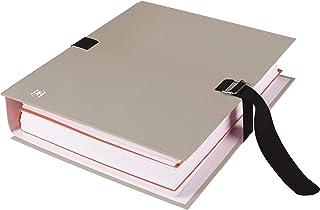 OXFORD Lot de 10 Chemises à Sangle Color Life Grande Capacité 24x32cm Dos Extensible 13cm Fermeture Boucle Couverture Cart...