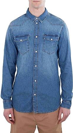 Tommy Hilfiger Western Denim Shirt Arnmb Camisa Vaquera para Hombre