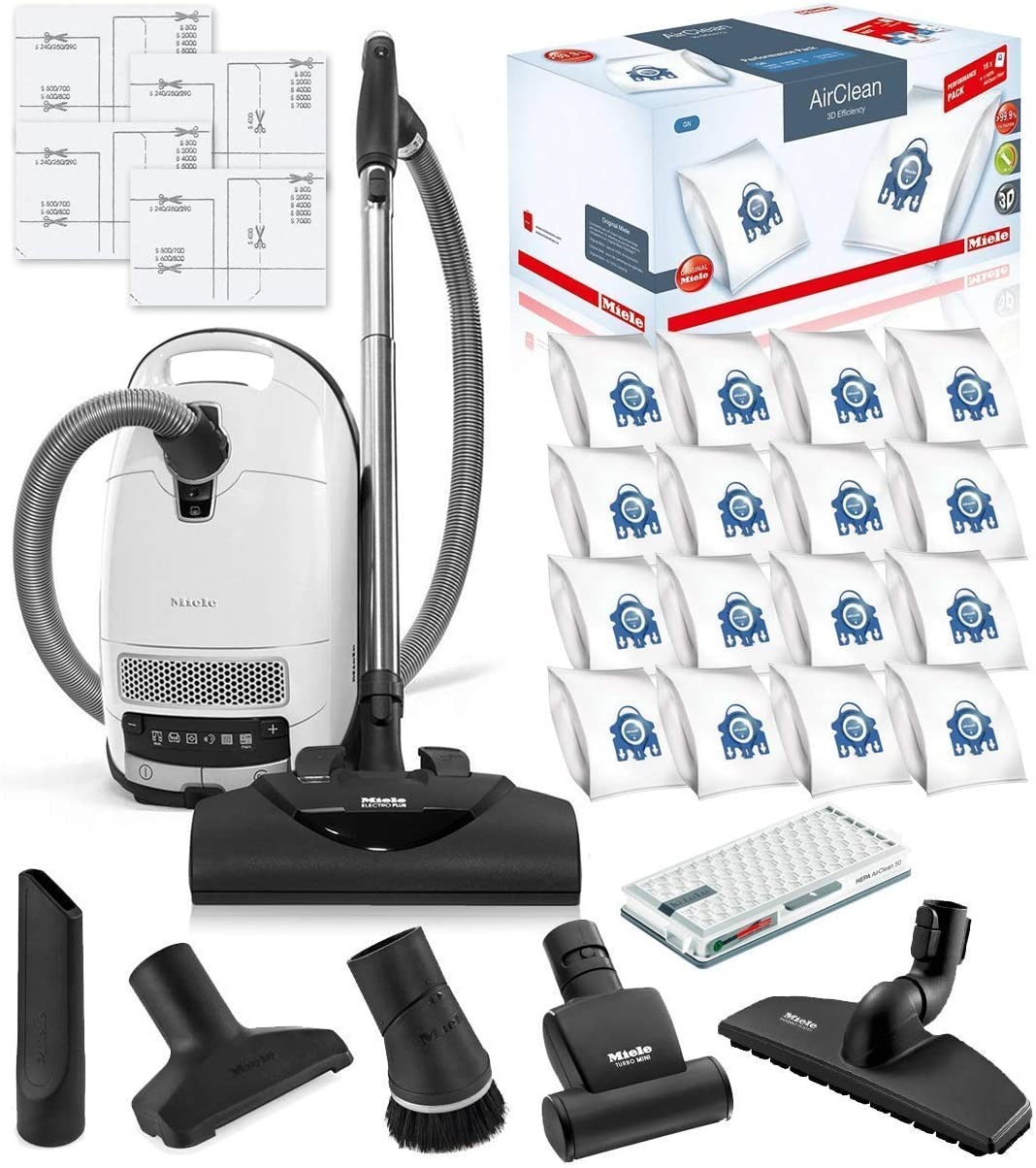Selling and selling Popular Miele Complete C3 Cat and Vacuum Canister Clea Dog HEPA
