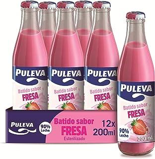 Puleva Batido Fresa - Paquete de 12 x 200 ml - Total: 2400 ml