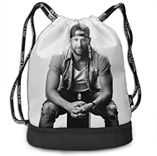 Funny Design Drawstring Backpack Bag Sports Gym Bag for Women Men Children
