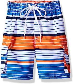 Kanu Surf Boys' Fusion Quick Dry UPF 50+ Beach Swim Trunk