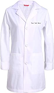 personalized lab coats