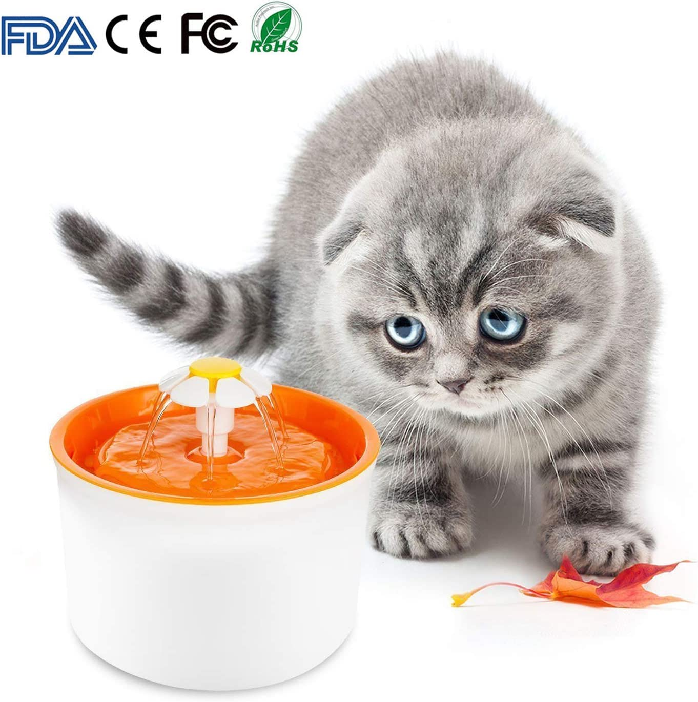 MINGPINHUIUS Cat Water Fountain 1.6 Pet Topics on TV Founta L Automatic Year-end annual account
