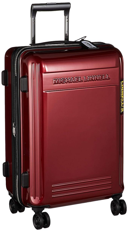 モディッシュ建築ナインへ[マイケル リンネル] スーツケース 超軽量双輪 エンボスロゴ 22インチ(拡張タイプ) TSAロック 58L 55 cm 3.6kg