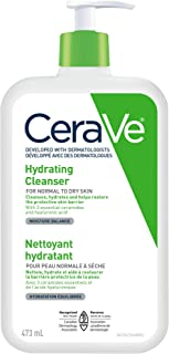 CeraVe Hydrating Face Wash, Daily Facial Cleanser for Dry Skin, Suitable for Sensitive Skin, Fragrance-Free, Verified Prod...