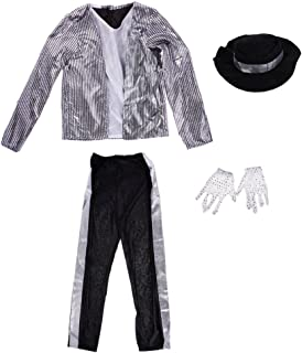 Kids Michael Jackson Cosplay Jazz Hip Hop Dance Party Outfits Costumes