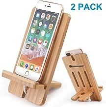 Best adjustable wooden phone holder Reviews
