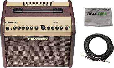Fishman PRO-LBT-500 Loudbox Mini with Bluetooth Acoustic Guitar Amp w/Polish Cl