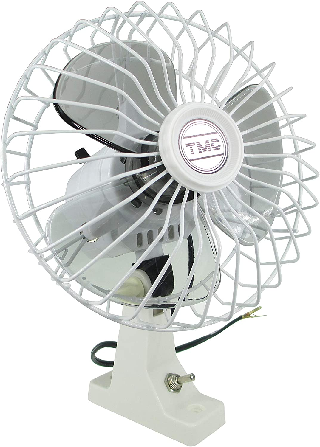Pactrade Marine Boat TMC Now free shipping 12V Whisper D Oscillating Over item handling ☆ Quiet Fan 6