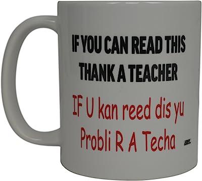 Funny Teacher Coffee Mug Sarcastic Novelty Cup Gift If Reading English Grammar Teaching School