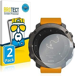 BROTECT Full-Cover Screenprotector compatibel met Suunto Traverse/Traverse Alpha (2 Stuks) - Full-Screen Schermbeschermer,...