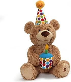 GUND Animated Happy Birthday Teddy Bear Stuffed Animal Plush, 10