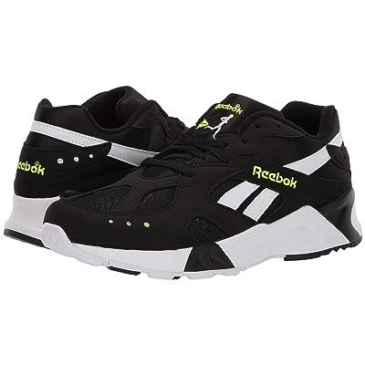 Reebok Aztrek (Black/White/Solar Yellow) Athletic Shoes