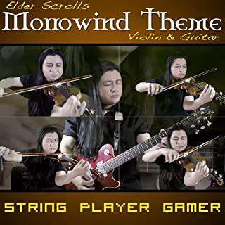 Elder Scrolls: Morrowind Main Theme for Guitar & Violin